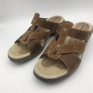 Merrell Shoes - MERRELL Luxe Slides Mink Slip-On's Sandals 7